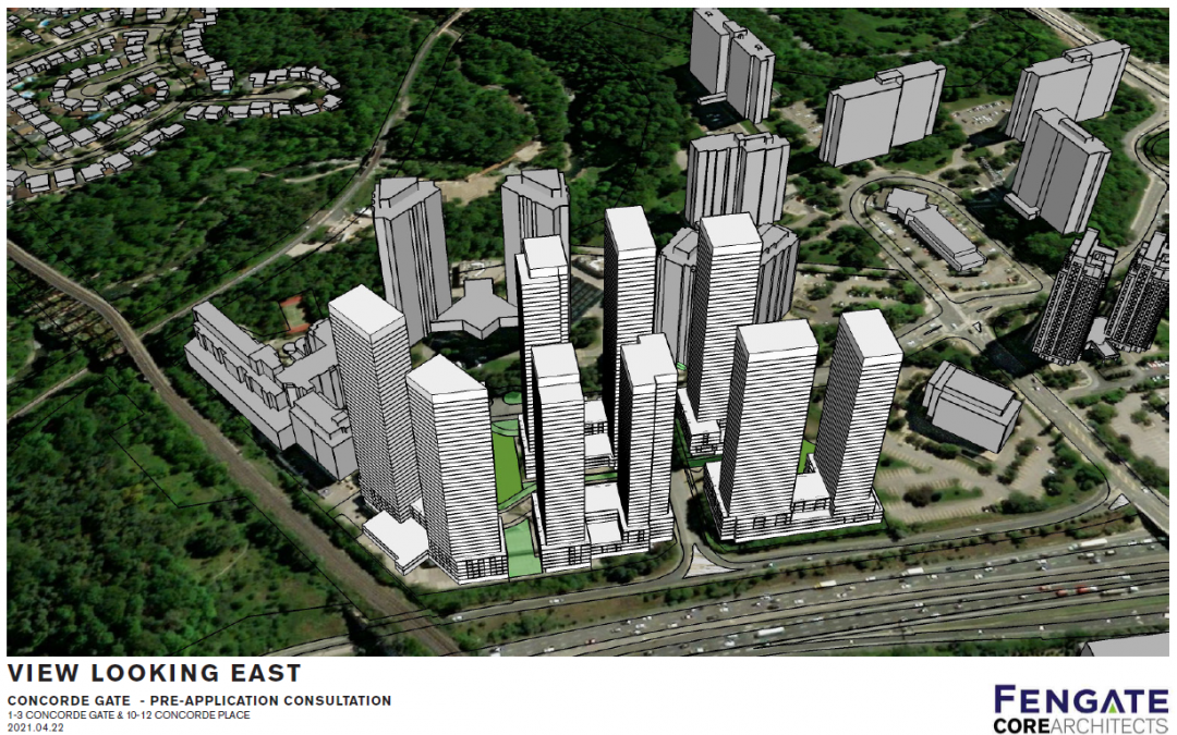 Proposal for new development at Concorde Gate